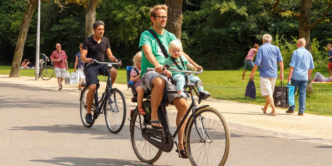 Ongebruikt Hoe vervoer je je kind veilig op uw fiets? VE-95